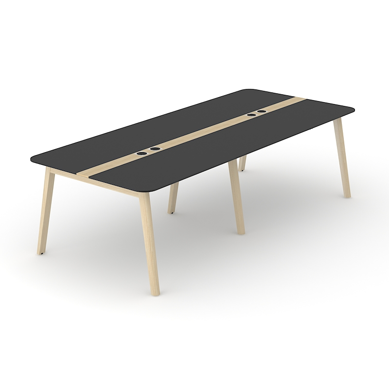 Delta Wood Meeting Table