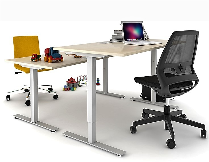 Delta Easy Sit and Stand Desk