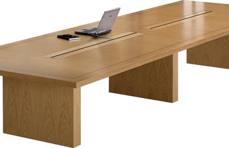 Lincoln Box Base Conference Table