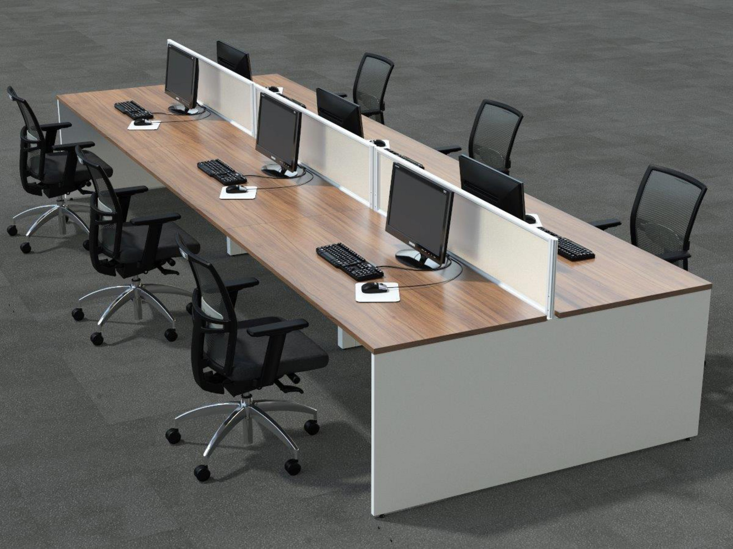 Centaur Sliding Top Bench Desks