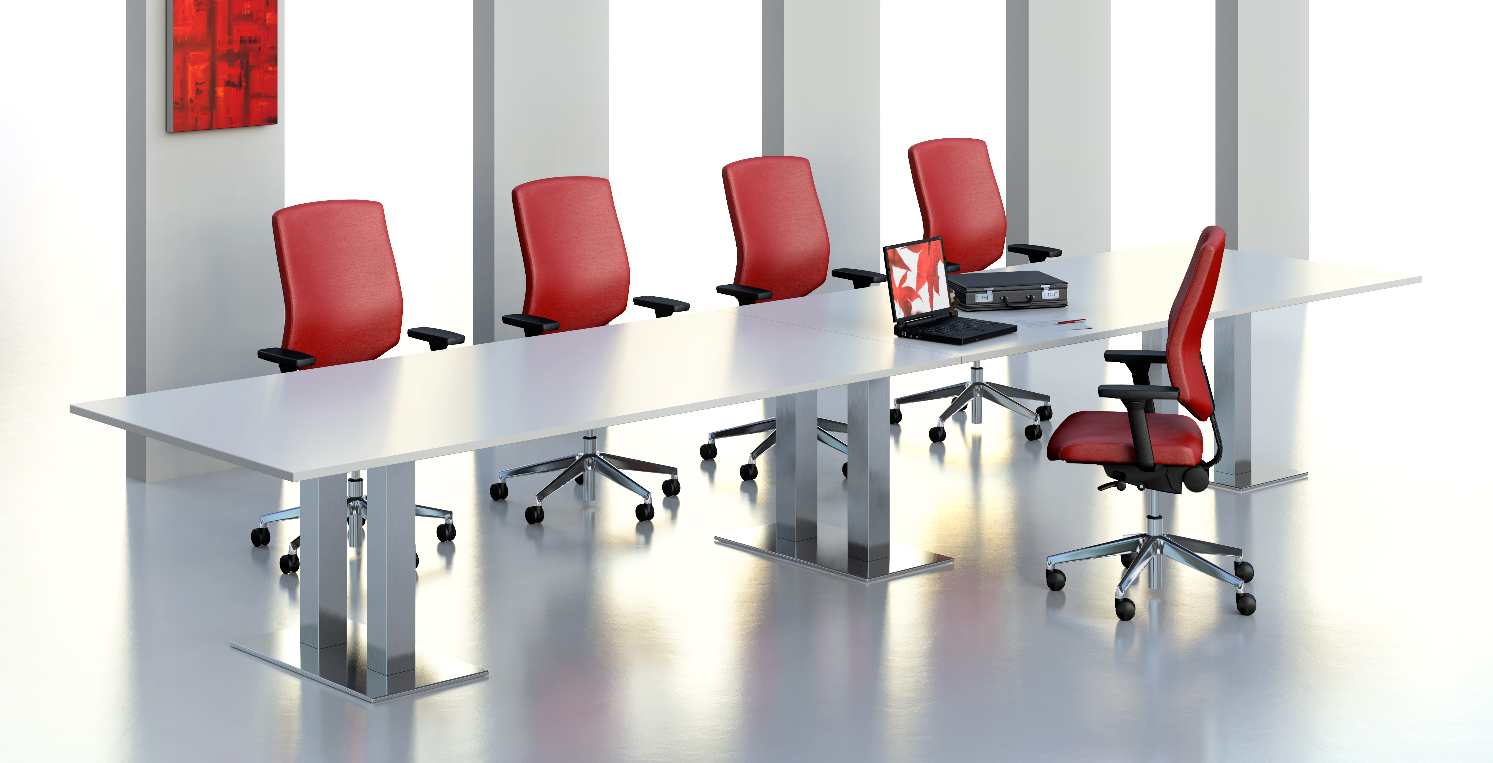 Centaur Meeting Tables twin square