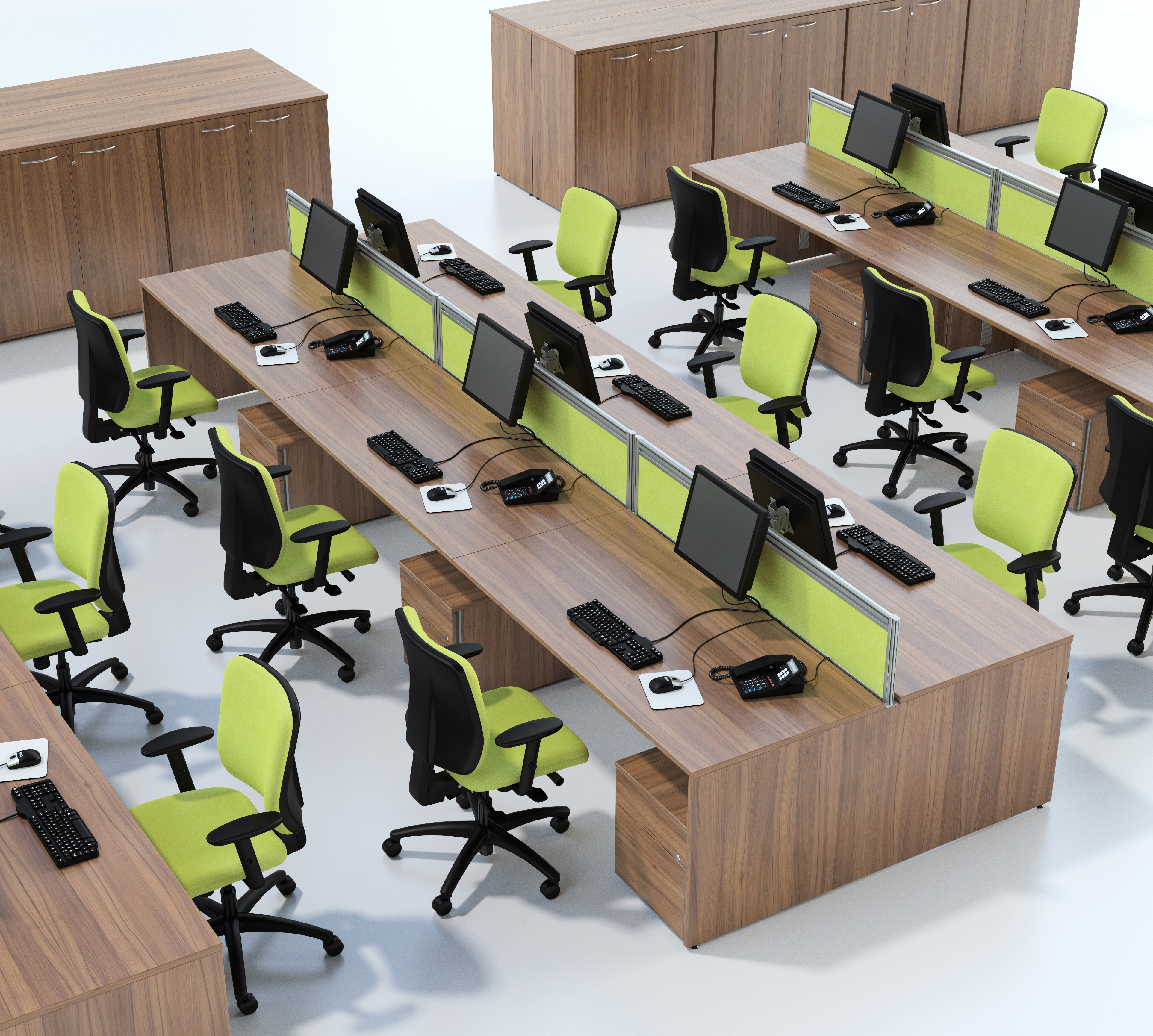 Centaur Rectangular Workstations