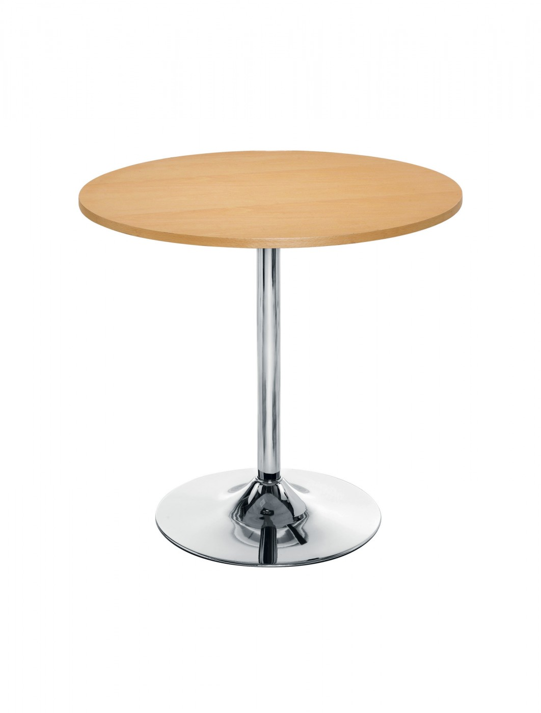 Ellipse Trumpet Base Wooden Table