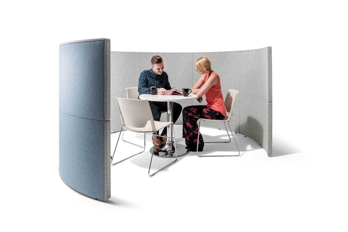 office pod furniture. Half Circle Office Pod System Furniture A