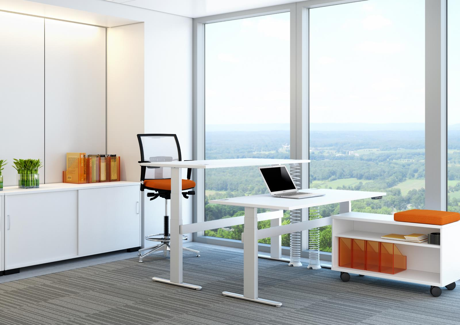 I Frame Electric Height Adjustable Desks