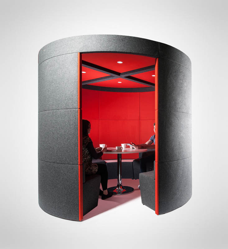 Q.S. Round Office Pods