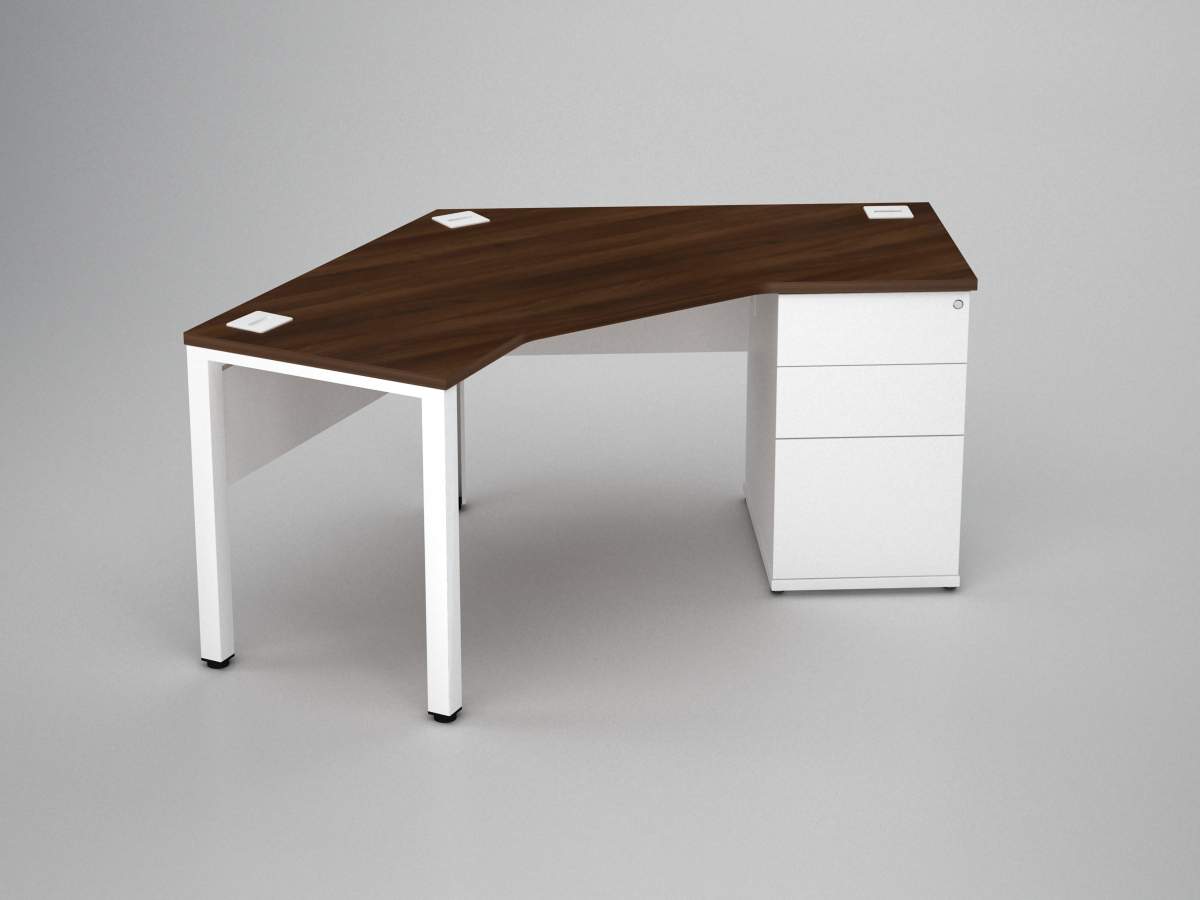 Poise Combination Rectangular Workstations