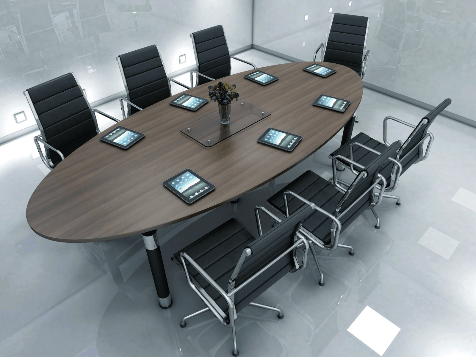 Austin Panel End conference table