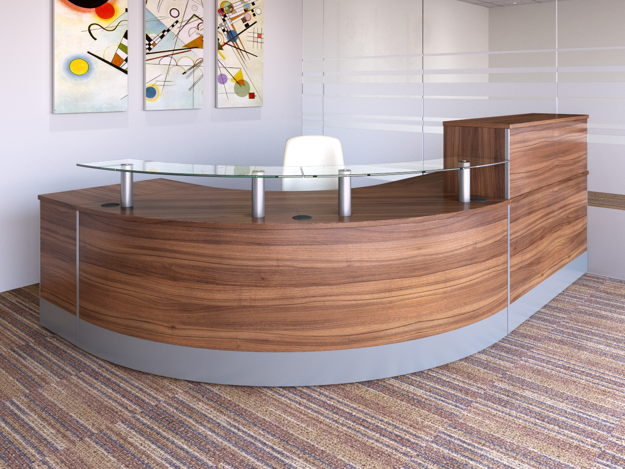Concept Modular Reception desks