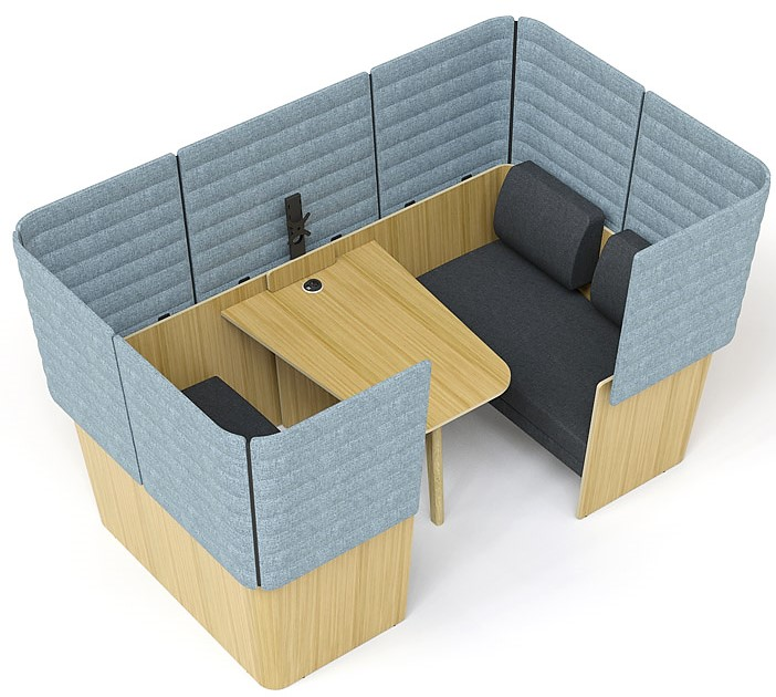 Island Wooden Meeting Pods