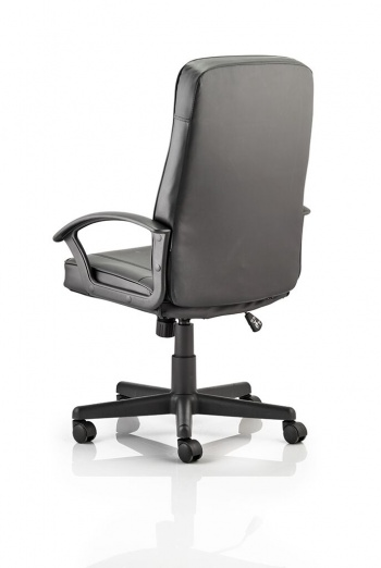 Oxford-High Back Leather Effect Executive Chair