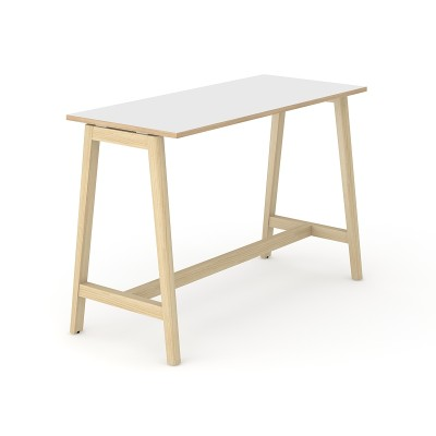 Delta Wood Poseur Tables
