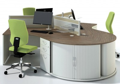 Centaur 120 Degree Desks
