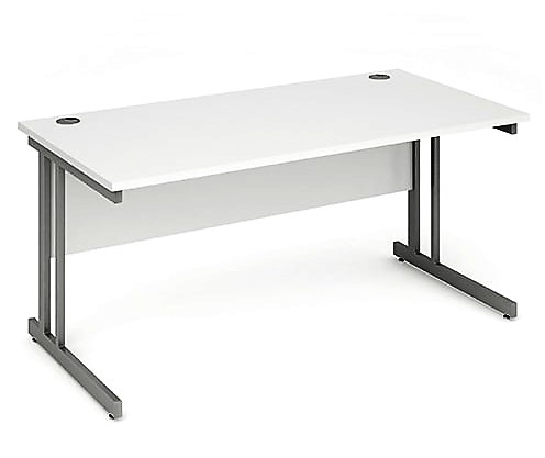 Pulse Rectangular Desk Cantilever Leg