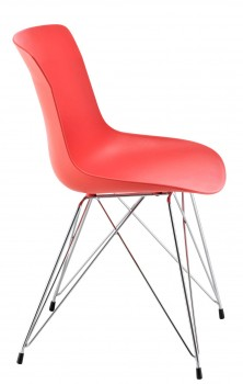 CT-2  Wire frame cafe chair, stylish visitor chair.