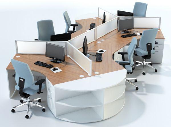 120 Degree Desks
